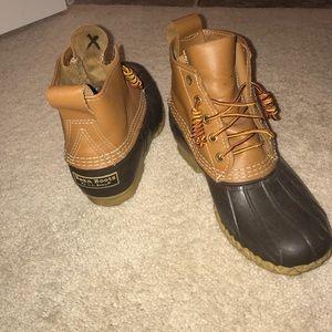 LL Bean 6 Inch Duck Boots